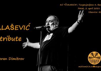 БАЛАШЕВИЋ tribute, плакат, 2.4.2021.