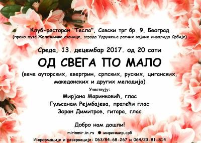 Тесла, плакат, 13.12.17
